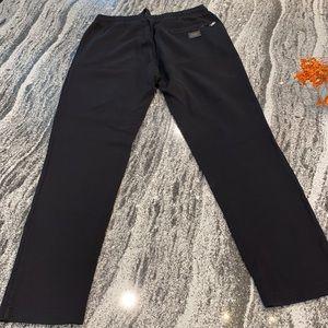 Men's Dolce and Gabbana black sleek joggers sz 52